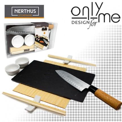 Nerthus VB FIH 357 - Сет за суши с нож