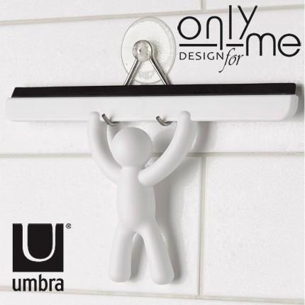 UMBRA 023006-660 Аксесоар за подсушаване на баня и душ кабина UMBRA BUDDY - бял