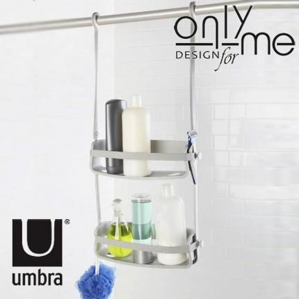 UMBRA 023460-918 Органайзер за баня и душ кабина UMBRA FLEX - сив