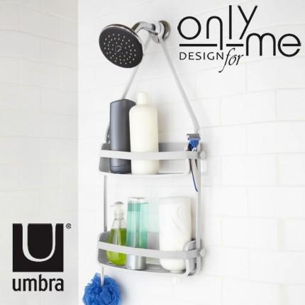 UMBRA 023460-660 Органайзер за баня и душ кабина UMBRA FLEX - бял