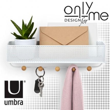 UMBRA 1004245-660 Закачалка за стена UMBRA ESTIQUE - бяла