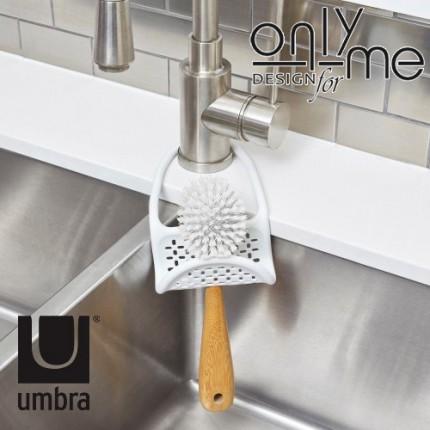 Органайзер за мивка UMBRA SLING - бял