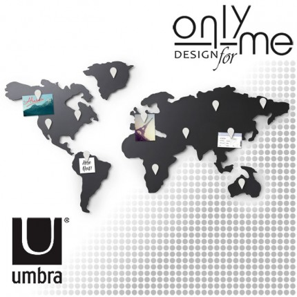 UMBRA 1008050-624 Стенна декорация UMBRA Mappit
